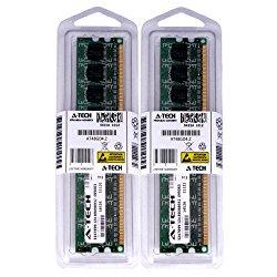 4GB kit (2GBx2) DDR2 PC2-5300 DESKTOP Memory Modules (240-pin DIMM, 667MHz) Genuine A-Tech Brand