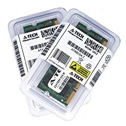 4GB kit (2GBx2) DDR2 PC2-6400 LAPTOP Memory Modules (200-pin SODIMM, 800MHz) Genuine A-Tech Brand
