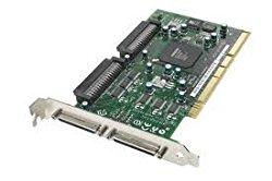 Adaptec ASC-39320A Ultra 320 Dual Channel SCSI LVD Controller Card, VHDCI PCI-X 39320A (ASC39320A), Refurb