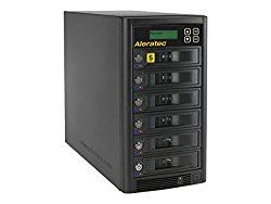 Aleratec Direct V2 1:5 HDD Copy Cruiser High-Speed Hard Disk Drive Duplicator 350125 – Black