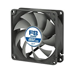 ARCTIC F8 PWM PST CO – 80mm Dual Ball Bearing Low Noise PWM Standard Case Fan with PST Feature – Ideal for Systems running 24/7