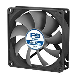 ARCTIC F9 PWM PST CO – 92mm Dual Ball Bearing Low Noise PWM Standard Case Fan with PST Feature – Ideal for Systems running 24/7
