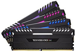 Corsair Vengeance RGB LED 32GB (4x8GB) DDR4 3000 (PC4-24000) C15 for DDR4 Systems PC Memory (CMR32GX4M4C3000C15)