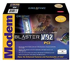 Creative Labs Modem Blaster V.92 PCI (Internal DI5633)