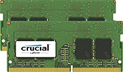 Crucial 32GB Kit (16GBx2) DDR4 2400 MT/s (PC4-19200) DR x8 Unbuffered SODIMM 260-Pin Memory – CT2K16G4SFD824A