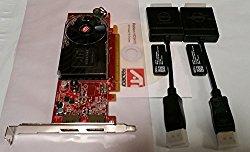 Dell W459D ATI Radeon HD3470 256MB Video Card 102B4031900 w/Fan Optiplex 780 580 960 Graphics