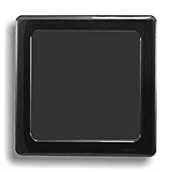 DEMCiflex Computer Dust Filter, Standard 80mm Square, Black Frame, Black Mesh