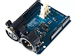 DMX Shield /This DMX / RDM Shield Is A Low Cost High Quality Solution That Allows You To Connect Your Arduino Driven Artwork Into DMX512 Networks
