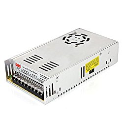 EPBOWPT 12V 30A Universal Regulated Switching Power Supply Driver for LED Strip Light CCTV Radio Computer Project