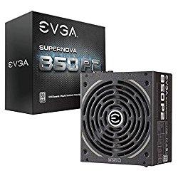 EVGA SuperNOVA 850 P2, 80+ PLATINUM 850W , Fully Modular , EVGA ECO Mode, 10 Year Warranty , Includes FREE Power On Self Tester, Power Supply 220-P2-0850-X1
