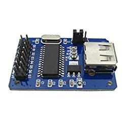 GUWANJI CH375B U Disk Reader Module USB Host Interface Module 51 U-writable Disc Module with SD Card Module