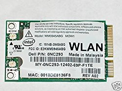 INTEL 3945ABG DELL 0NC293 WIFI 802.11 A/B/G MINI PCIE INTERNAL NETWORK CARD USA