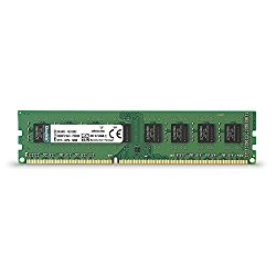 Kingston ValueRAM 8GB 1600MHz DDR3 Non – ECC CL11 DIMM STD Height 30mm Desktop Memory KVR16N11H/8