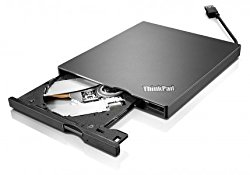 Lenovo External USB 3.0/2.0 ( 4XA0E97775) Slim Portable DVD Burner In The Lenovo Retail Sealed Packing for X1 Carbon And Yoga