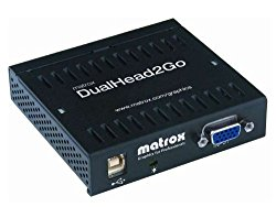 Matrox Dual Head 2 Go ROHS Compliant USB Powered D2G-A2A-IF