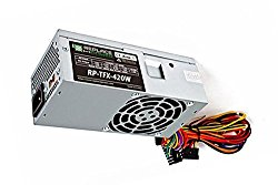 New Slimline Power Supply Upgrade for SFF Desktop Computer – Fits: Dell Inspiron 530S, 531S, 537S, 546ST