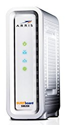 Next-Generation ARRIS SURFboard SB8200 DOCSIS 3.1 Cable Modem – Retail Packaging- White