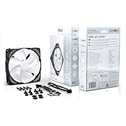 Noiseblocker NB-eLoop B14-3 140mm Bionic Loop Fan, 1400RPM, 104.93CFM, 28.5dBA