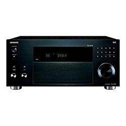 Onkyo TX-RZ1100 9.2 Channels Surround Sound Audio/Video Component Receiver, Black