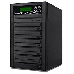 SATA DVD Duplicator – 5 Target Standalone CD / DVD Duplicator with SATA DVDRW