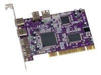SONNET TECHNOLOGIES FWUSB2A Tango 6PORT Firewire/usb 2.0 Pci 400MBPS/480MBPS Mac