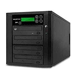 Spartan Duo 3 Target SATA DVD Duplicator with USB Slot D03-SDSP (Black)
