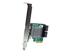 StarTech.com 4 Port PCI Express 2.0 SATA III 6Gbps RAID Controller Card with HyperDuo SSD Tiering – PCIe SATA 3 Controller Adapter