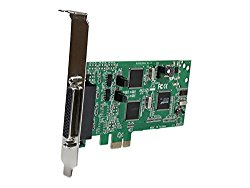 StarTech.com 4 Port PCI Express Dual Profile PCIe Serial Card Adapter with Breakout Cable – 2 x RS232 2 x RS422/RS485 PEX4S232485