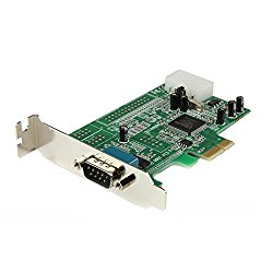 StarTech.com PEX1S553LP 1 Port Low Profile Native RS232 PCI Express Serial Card with 16550 UART