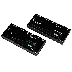 StarTech SV565UTPU VGA USB KVM Console Extender over CAT5 UTP 500-ft (Black)