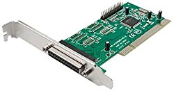 Syba 2 Port DB25 Parallel PCI 2.1 32 Bit Controller Components Other (SY-PCI10002)