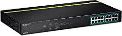 TRENDnet 16-Port Gigabit PoE+ Switch (TPE-TG160g)