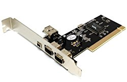Via Chip 3 + 1 Ports Firewire IEEE1394 iLink PCI Controller Card W/ Free 6 to 4pin firewire cable