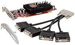 VisionTek Radeon 5570 SFF 1GB DDR3 4M  VHDCI DVI (4x DVI-D) Graphics Card – 900345