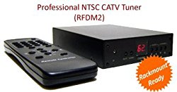 Analog CATV Tuner With RCA A/V Output For Cable TV Satellite Receiver