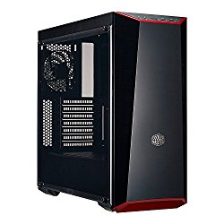 MasterBox Lite 5 ATX Mid-Tower Case with Dark Mirror Front Panel, Acrylic side panel, Customizable trim colors