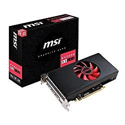 MSI RX 580 8G V1 DirectX 12 Radeon 256-Bit GDDR5 PCI Express x16 Graphics Card