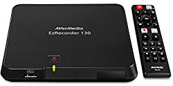 AVerMedia EzRecorder, HD Video Capture High Definition HDMI Recorder, PVR, DVR, Schedule Recording, 32GB Flash Drive Incl  (ER130)