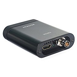 MOKOSE USB3.0 HDMI / SDI Video Capture Card for Windows, Linux, OS X (Mac) HD Loop Thru Game Dongle Grabber Device 1080P 60fps UVC Free Driver Box