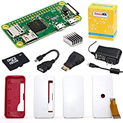 CanaKit Raspberry Pi Zero W (Wireless) Complete Starter Kit – 16 GB Edition