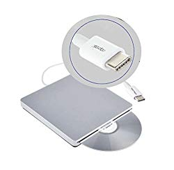 YP USB Type C DVD Rewriter External Slot-in Disks Burner Drive DVD CD VCD Player Superdrive
