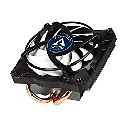ARCTIC Freezer 11 LP – 100 Watts Intel CPU Cooler for Slim PC Cases – Untra quiet 92 mm PWM fan – Pre-applied MX-4 Thermal Compound