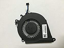 HK-part Replacement Fan for HP Omen 15-AX 15-AX000 15-AX100 15-AX200 15-AX020CA 15-AX033DX 15-AX101TX15-AX243DX Series Cpu Cooling Fan P/N 858970-001