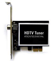Hybrid Digital Analog ATSC DVB-T Clear-QAM NTSC PAL TV Tuner PCI Express Card For Desktop PC