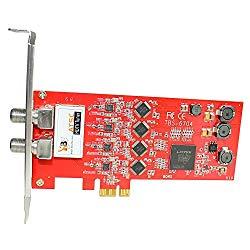 TBS6704 ATSC/ Clear QAM Quad Tuner PCIe Card for IPTV Server