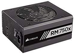 Corsair RMX Series, RM750x, 750 Watt, Fully Modular Power Supply, 80+ Gold Certified