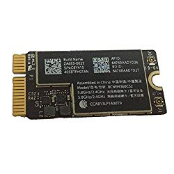 Willhom BCM94360CS2 WiFi Bluetooth Airport Wireless Card Replacement for MacBook Air 11″ A1465 (2013, 2014, 2015) 13″ A1466 (2013, 2014, 2015, 2017) (661-7465, 661-7481, 653-0023)