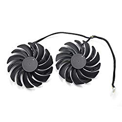 95MM Dual Ball Bearing Graphics cards cooling fan For MSI GTX 1060 1070 1080 TI RX 470 480 570 580 Gaming Video Card Cooler