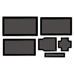 DEMCiflex Dust Filter Kit for Cooler Master N400, Black Frame/Black Mesh