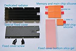 JZLL M.2 SSD Cooling Radiator kit support 2280 SM951 SM961 960PRO 950PRO 960EVO